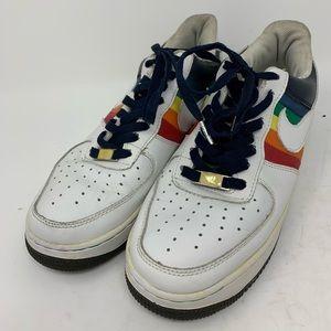 Nike AF1-82 Rainbow Colored Men's Low Top Sneaker